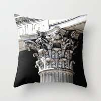 Classic Architectural Co… Throw Pillow