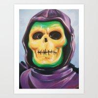 Skeletoy Art Print