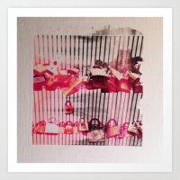 Love Lock Gate Art Print