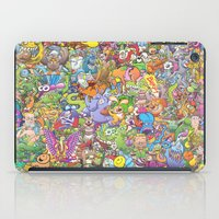 Creatures festival iPad Case