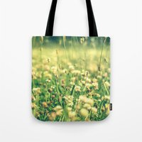 My Heart Was Wrapped in Clover (the night I looked at you) Tote Bag