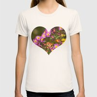 Plant A Flower Womens Fitted Tee Natural SMALL