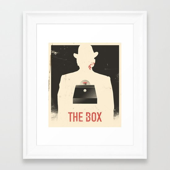 The Box - Movie Poster Framed Art Print