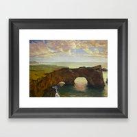 Double Arch Framed Art Print