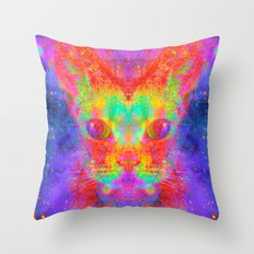 Catterfly-Lady Jasmine Throw Pillow