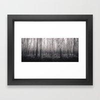 Black And White Forest 2… Framed Art Print