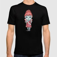 My Little Accident  Mens Fitted Tee Black SMALL