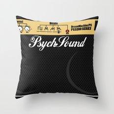 PsychSound Throw Pillow