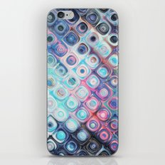 Reflecting Circles of Color iPhone & iPod Skin