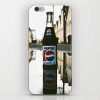 A Pepsi reflection iPhone & iPod Skin