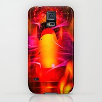 Galaxy S5 Cases featuring Lighthouse romance by Walter Zettl
