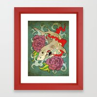 You Dont Bring Me Flower… Framed Art Print