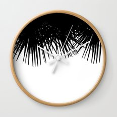 Fan Palm Wall Clock