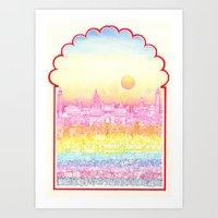 Rangeela India  Art Print