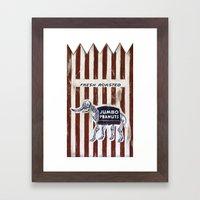 Jumbo Peanuts Framed Art Print