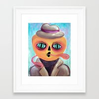 Calabacito in a Suit Framed Art Print
