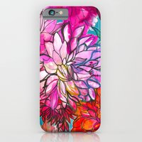 iPhone & iPod Case featuring Garden of Dahlias by Marcella Wylie