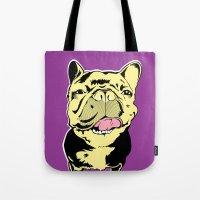 Taco The French Bulldog Tote Bag