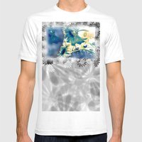 Evening Rays Mens Fitted Tee White SMALL