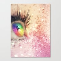 Rainbow Fairy Canvas Print