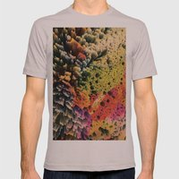 AQUART / PATTERN SERIES 007 Mens Fitted Tee Cinder SMALL