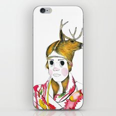 La Muerte iPhone & iPod Skin