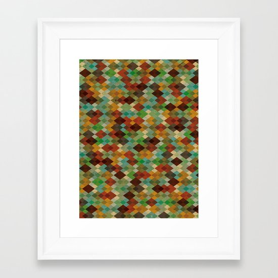 Deckled Formation Framed Art Print