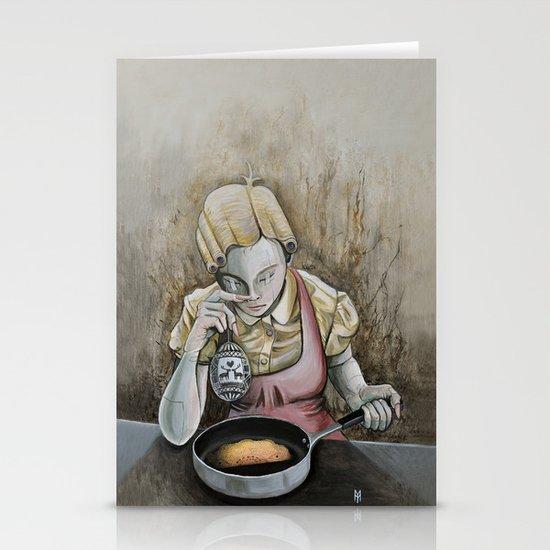 I keep making the same omelette Stationery Card