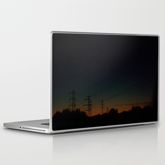 Wired road Laptop & iPad Skin