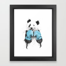 the winner Framed Art Print