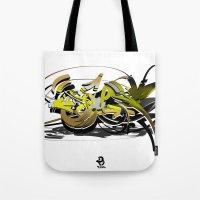 3d graffiti - soul Tote Bag