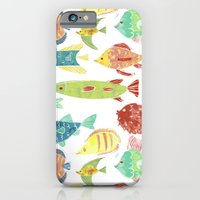Little flowers and friends iPhone 6 Slim Case