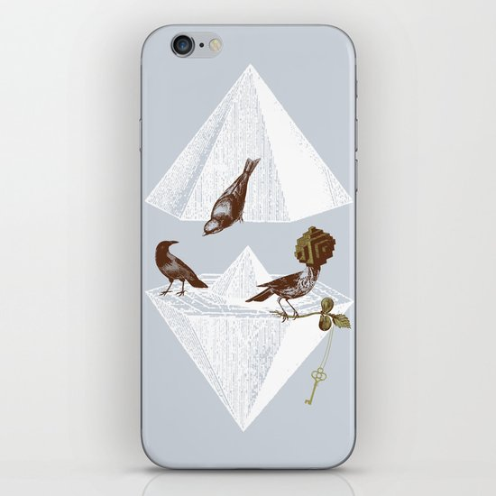 Guardian of Secrets iPhone & iPod Skin