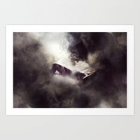 It's Only Fragments That… Art Print