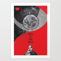 Love is the drug (Rocking Love series) Art Print