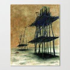Yeryüzünde arta kalanlar Canvas Print