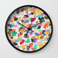 buttercups 3 Wall Clock