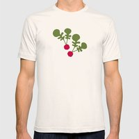 Vegetable Medley Mens Fitted Tee Natural SMALL