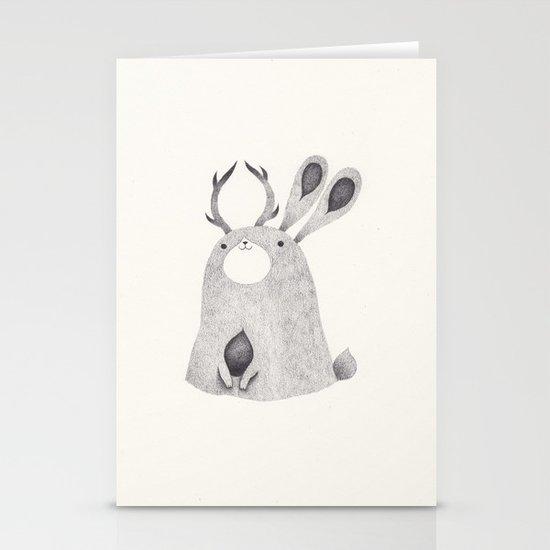 jackalope Stationery Card