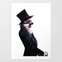 Unbearable Gentleman Art Print