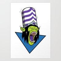 Evil Mojo Art Print