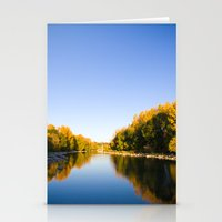 Autumn Reflections - Calgary, AB Stationery Cards