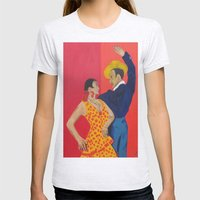 Jose Y Lola Womens Fitted Tee Ash Grey SMALL