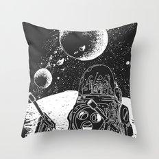 Duke of the Moon Throw Pillow