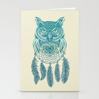 Midnight Dream Catcher Stationery Cards