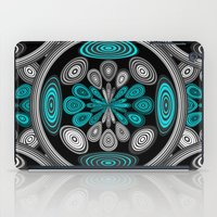 Geometric arabesque iPad Case