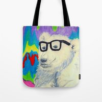 Colorful thinking Tote Bag