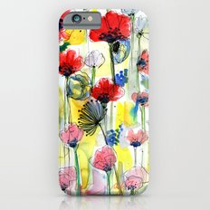 Poppy Floral iPhone 6 Slim Case