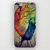Rainbow Heart iPhone & iPod Skin