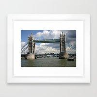 Tower Bridge Framed Art Print